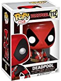 Deadpool H840415 Marvel Pop Vinyl Bobble-Head Figur 112 Thumbs Up, Mehrfarbig
