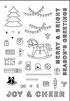 DIYスクラップブッキングフォトアルバム用の11x16トロイの木馬透明クリアシリコンスタンプシール装飾クリアスタンプ