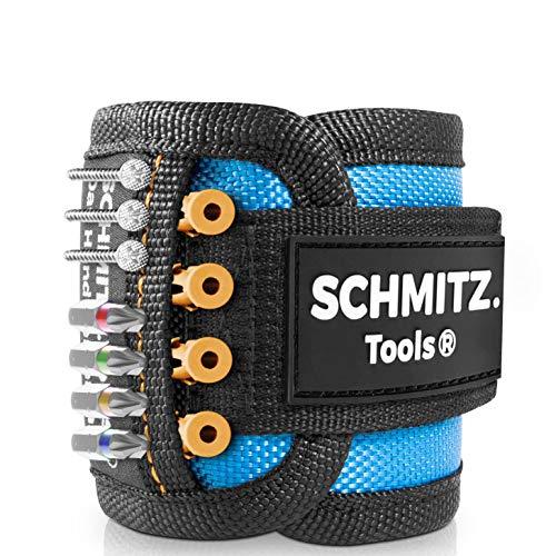 Magnetarmband für Handwerker [2021] Werkzeug für Kinder – Kinderwerkzeug – Kinderwerkzeug Echt – Geschenk Heimwerker – Echtes Werkzeug für Kinder - magnetisches Armband Werkzeug