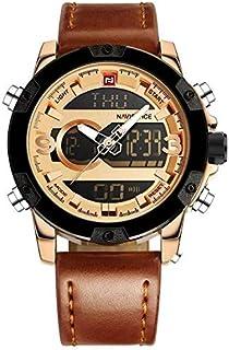 ساعة يد رجالية رياضية  من نافيفورس