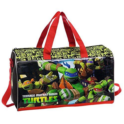 Tortugas Ninja Bolsa de Viaje, 21.17 litros, Multicolor