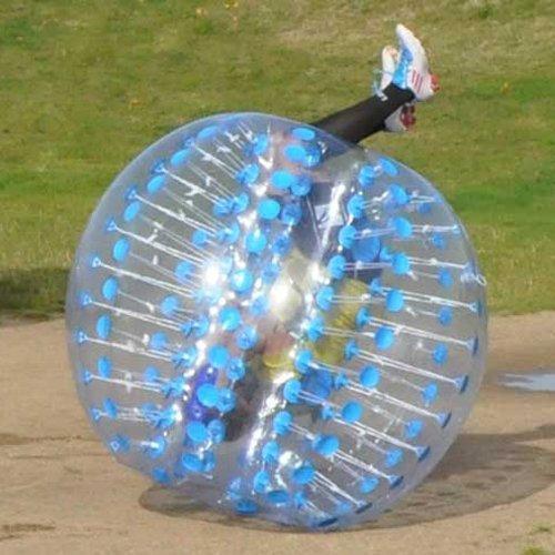 Holleyweb™ Bubble Football Suits Dia 5' (1.5m) Bubble Soccer Equipment Human Inflatable Bumper Bubble Balls