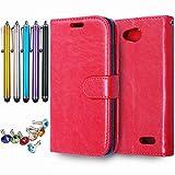 LEMORRY Handyhülle für LG L90 D405 Schale Tasche,