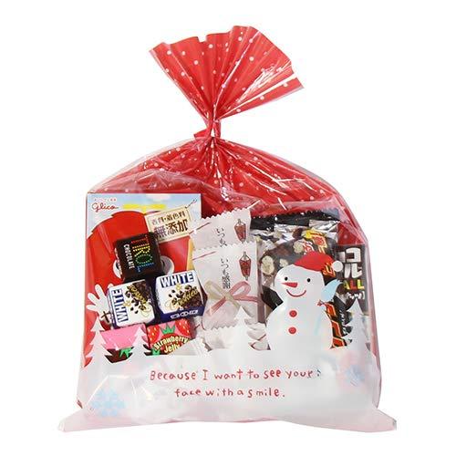 クリスマス袋 550円 お菓子 詰め合わせ(Bセット) 駄菓子 袋詰め おかしのマーチ