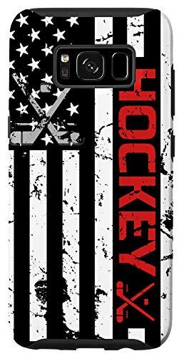 Galaxy S8 Hockey phone case Red American Flag gift Hockey Lover Case