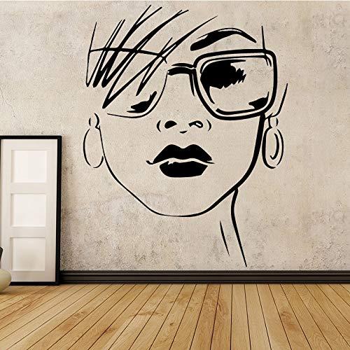 Tianpengyuanshuai muurstickers, modieus, voor dames, moderne kunst, decoratie voor thuis, modeaccessoires voor de woonkamer
