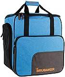 Brubaker Super Performance Skischuhtasche Helmtasche Rucksack mit Schuhfach - Blau