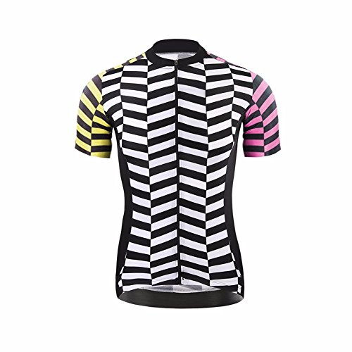 Uglyfrog Maillot Ciclismo 2018 Primavera/Verano Moda Hombre Manga Corta Jersey y Babero Pantalones Cortos Bodies Ropa Bicicleta Transpirable Secado Rápido DXMZ01
