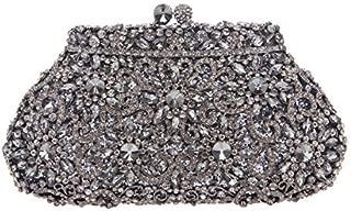 Fawziya SunFlower Purses For Women Luxury Rhinestone Crystal Evening Clutch Bags