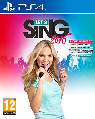 Koch Media Let's Sing 2016 PS4 Básico PlayStation 4 Inglés vídeo - Juego (PlayStation 4, Música, Modo multijugador, Soporte físico)