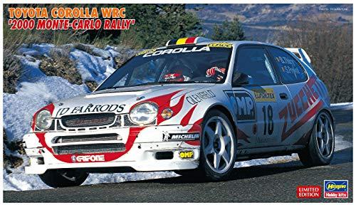 Hasegawa 020396 1/24 Toyota Corolla WRC 2000 Monte Carlo Rally - Juego de construcción de maqueta