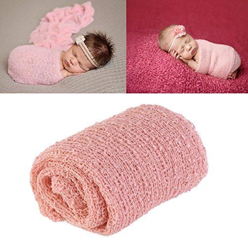 Tinksky Largo rizado abrigo, DIY recién nacido bebé fotografía bebé abrigo apoyos...