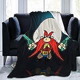 Yosemite Sam Art Ultra-Soft Micro Fleece Blanket Throw Super Soft Anti-Pilling Lightweight Sofa Plush Bed Couch Living Room50x60 in