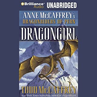 Dragongirl audiobook cover art