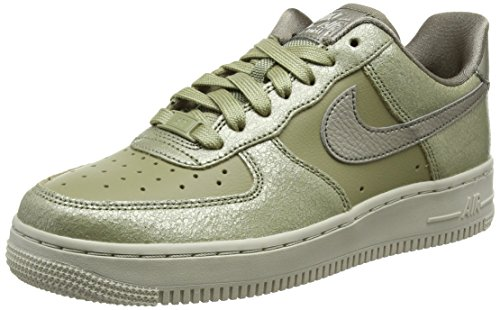 Nike W Air Force 1 '07 Prm, Scarpe da Ginnastica Donna, Verde (Neutral Olive/Bronzed Olive/Ne 200), 44.5 EU