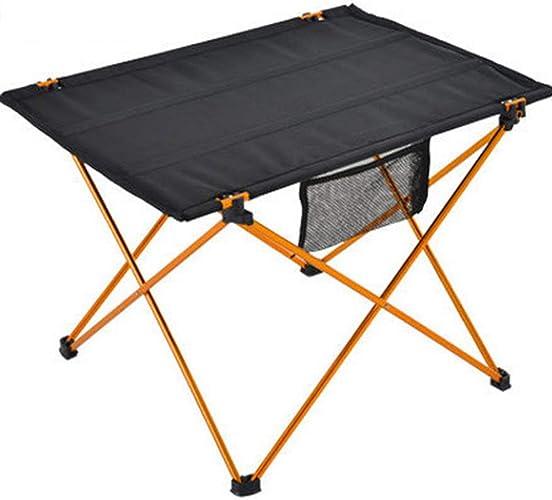CBWZDJZDS Alliage D'Aluminium Ultra-Léger en Plein Air portable Pliable Table Table De Pique-Nique Table De Thé Table De Camping voitureré Barbecue