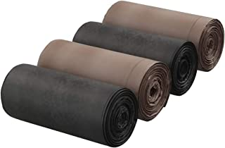 Eudokky Bolsas de Basura 50 Litros, 100% Biodegradables, 4 Rollos