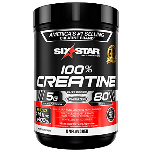 Creatine Monohydrate Powder | Six Star Elite | Post Workout Recovery Drink...