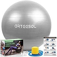 Arteesol 45cm/55cm/65cm/75cm/85cm Anti-Burst Exercise Yoga Ball