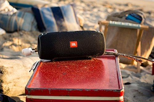 JBL Xtreme Sistema Audio Portatile, Splashproof, Bluetooth, Wireless, Nero