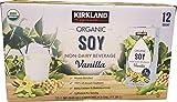Signature Organic Soymilk, Vanilla, 24-Pound