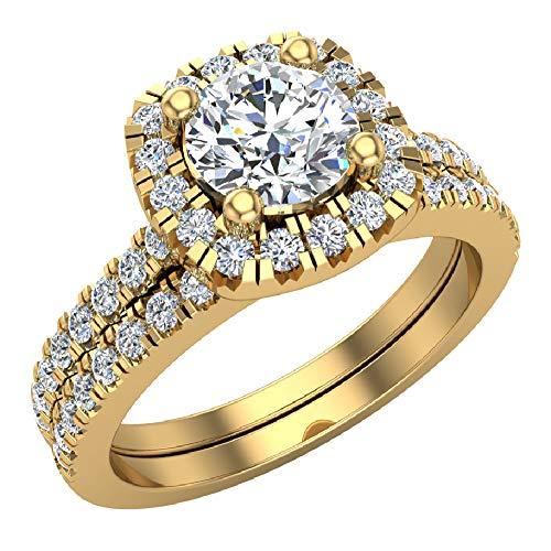 Ravishing - Juego de anillos de boda de