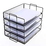 Papier Büro Veranstalter Papier Buchumschlag Datei Füllfach Broschüre Rack Regal Halterung Metalldrahtgewebe Aufbewahrungshalter , Tabletts Korb Organizer Halter Regal