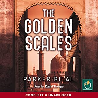 The Golden Scales     A Makana Mystery, Book 1              By:                                                                                                                                 Parker Bilal                               Narrated by:                                                                                                                                 David Thorpe                      Length: 13 hrs and 1 min     14 ratings     Overall 3.7