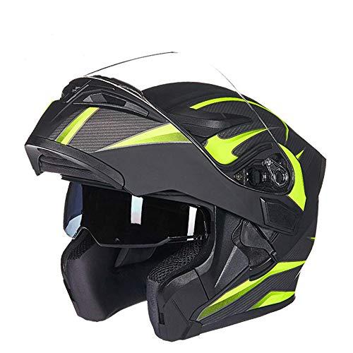 Motorradhelm Klappbare Motocross-helme Herren Vollgesichts-Moto-helme Motorrad-capacete Casco Moto Mit Doppellinse
