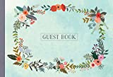 Guest Book: Illustrated Nature Edition