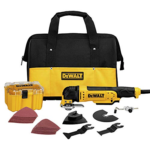 Why Should You Buy Dewalt Multi-Master 3 Amp Oscillating Tool Kit (Renewed)