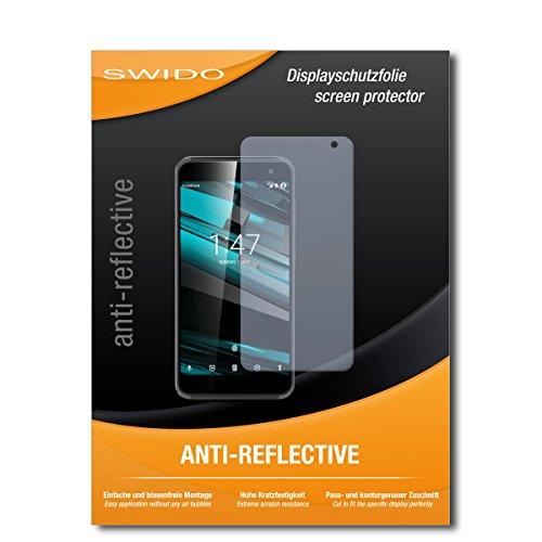 SWIDO Bildschirmschutzfolie für Vodafone Smart Platinum 7 [3 Stück] Anti-Reflex MATT Entspiegelnd, Extrem Kratzfest, Schutz vor Kratzer/Bildschirmschutz, Schutzfolie, Panzerfolie