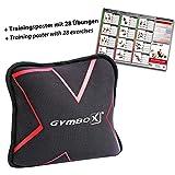 GYMBOX Sand-Pad Trainings-Kissen Gewichtssack 2 4 6 8 10 12 KG (6 Kilogramm), Sandbag Neopren