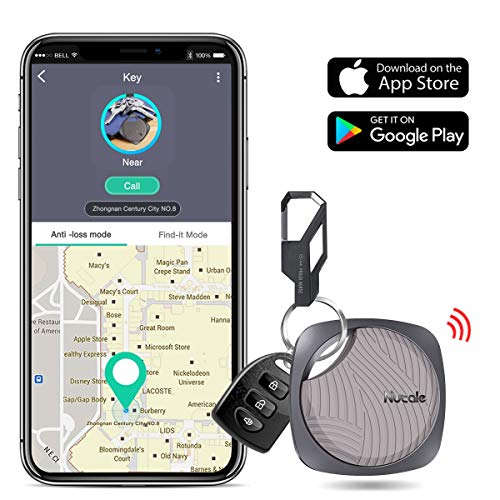 DinoFire Key Finder Smart Tracker, Item Finder with Bluetooth Lost Keys Finder with App for Phone