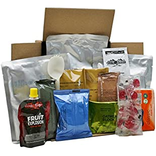 Army Ration Pack Ready To Eat Meals New Menu 6 Vegetarian