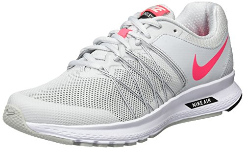 Nike Air Relentless 6, Zapatillas de Running para Mujer, Gris (Pure Platinum/Racer Pink/Black/White), 40.5 EU