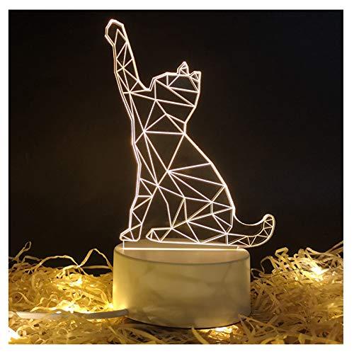 DM&F LED-Nachtlicht Energiesparendes Plug-In-Schlafzimmer Nachttischlampe, Studienschreibtisch Tischlampe Tischpendel (Color : C)