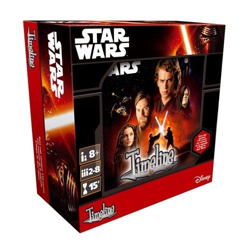 Asmodee Editions - Kaartspel Timeline: Star Wars/II/III (ade0tim07es)
