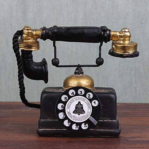 Wohnaccessoires, Bastelornamente, altes und schmutziges Kunsthandwerk, Telefon