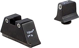 Trijicon Glock Bright & Tough Sight Suppressor (Green Front Lamp & Yellow Rear Lamps), Multicolor