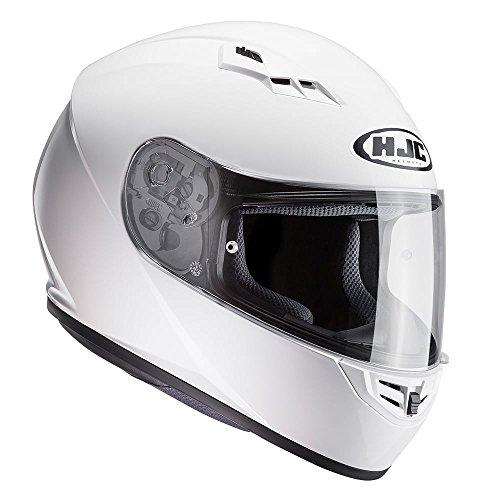 Casco Moto Hjc Cs-15 Blanco (M , Blanco)