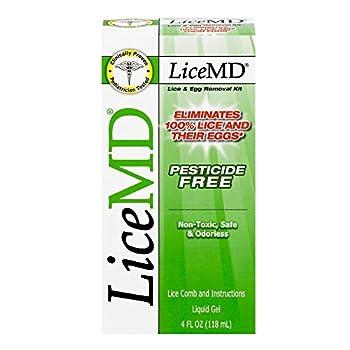 LiceMD Head Lice Treatment Kit 4 oz