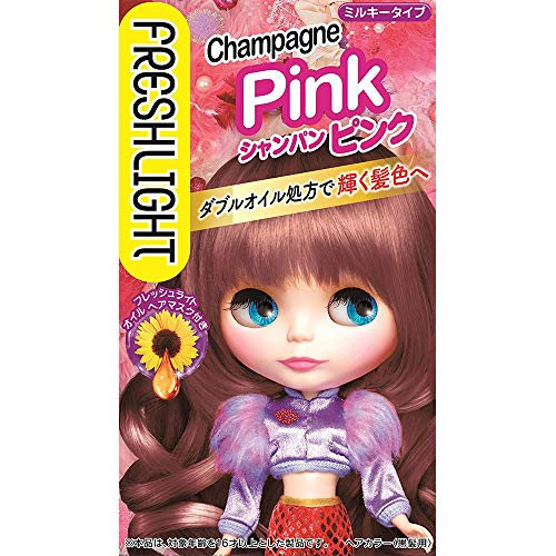 Fresh Light Hair Color - Champagne Pink
