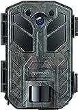 APEMAN 20MP 1080P Fototrappola con Visione Notturna a infrarossi 850NM LED Fino a 65 piedi/20m IP66 Impermeabile per Esterni Natura, Giardino, sorveglianza di Sicurezza della Pelle