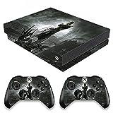 VINILOL Vinilo Dishonored para Xbox One X pegatina cubierta skin para consola y 2 mandos