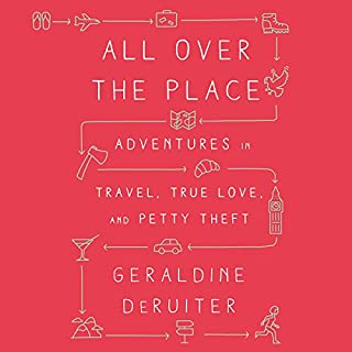 All over the Place audiobook cover art