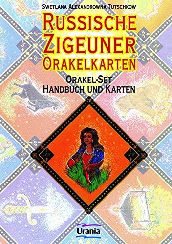 Russische Zigeuner Orakelkarten: Orakel-Set - Handbuch und Karten