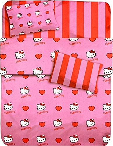 Pezzoli Shop Completo Lenzuola Singolo Hello Kitty