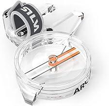 Silva ARC Jet C kompas, volwassenen, uniseks, transparant, klein