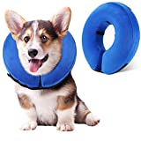 WANTRYAPET Protective Inflatable Collar, Inflatable Comfy Cone for Dogs and Cats, Soft Dog